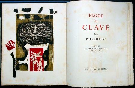 挿絵入り本 Clavé - Éloge De Clavé