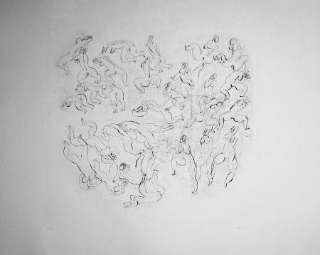 エッチングと アクチアント Fautrier - Étude de nus