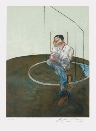リトグラフ Bacon - Étude pour un portrait de John Edwards