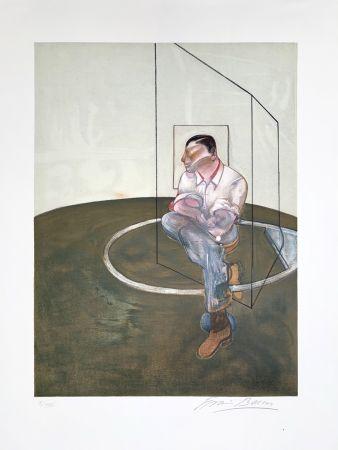 リトグラフ Bacon - Étude pour un portrait de John Edwards, 1987
