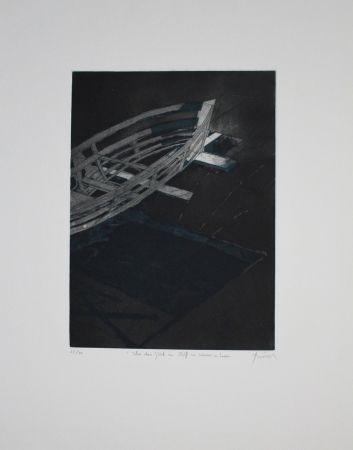 エッチングと アクチアント Tuma - Über das Glück ein Schiff zu Wasser zu Lassen