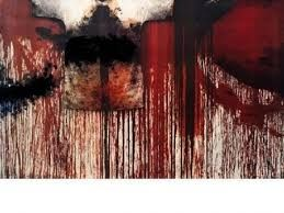 技術的なありません Nitsch - Übermalte Bild