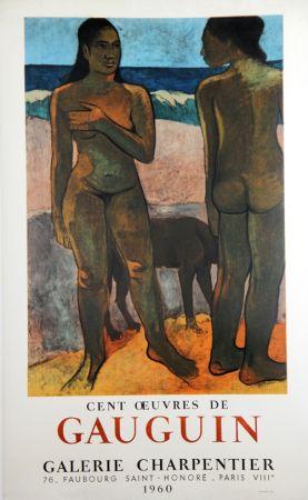 リトグラフ Gauguin - 100 Oeuvres de Gaugin Galerie Charpentier