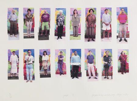 写真 Hockney -  112 L A Visitors - page 3 of Portfolio