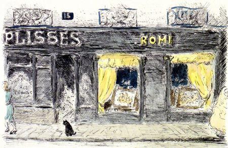 リトグラフ Cascella - 15 Rue de Seine-Paris