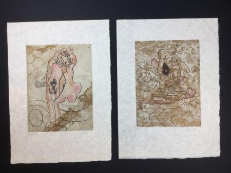 エッチングと アクチアント Matta - 2 artworks from FMR folder