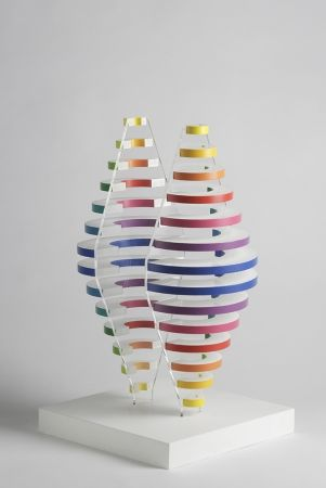 多数の Boto - 2 Demi cones avec anneaux de couleurs