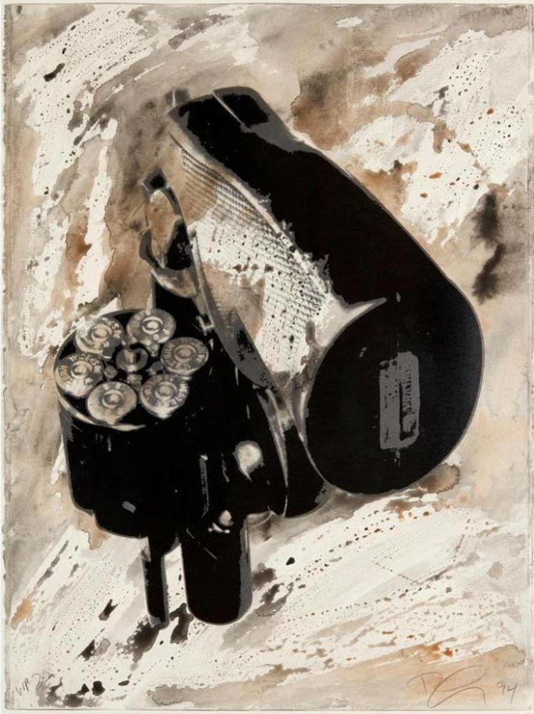 シルクスクリーン Longo - .38 Special