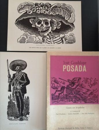 挿絵入り本 Posada - 50 aniversario de su muerte