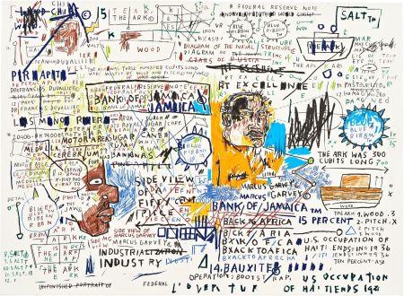 シルクスクリーン Basquiat - 50 Cent Piece