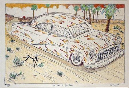 彫版 Lujan - 50 Ford de Ese Eme, Hand Painted