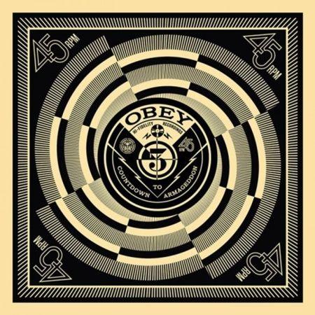 シルクスクリーン Fairey - 50 Shades of Black Box Set: Countdown to Armageddon