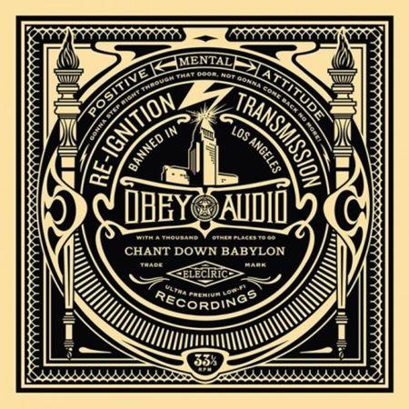シルクスクリーン Fairey - 50 Shades of Black Box Set: Reignition Transmission