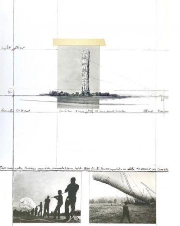 多数の Christo - 5600 m3 Package, Project for Documenta 4, Kassel,
