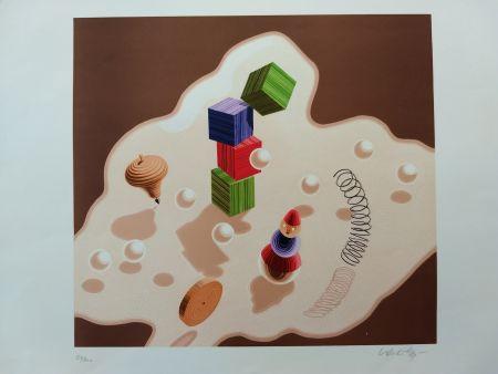 リトグラフ Vasarely - 56/200
