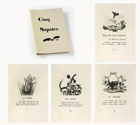 挿絵入り本 Braque - 5 sapates