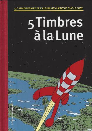 挿絵入り本 Rémi - 5 Timbres à la Lune (Belgique)
