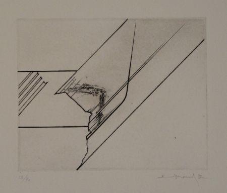 エッチング Evrard - 6 gravures originales