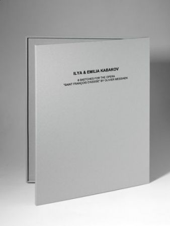 リトグラフ Kabakov - 6 Sketches for the Opera Saint François Assise
