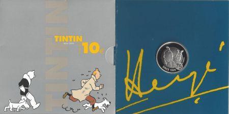 多数の Rémi - 75ème anniversaire de Tintin (Monnaie Royale de Belgique)