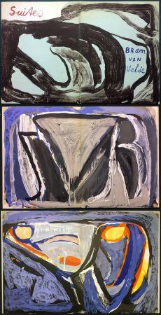 挿絵入り本 Van Velde - 7 Lithographies pour le Catalogue Galerie Krugier n°1 (1962)