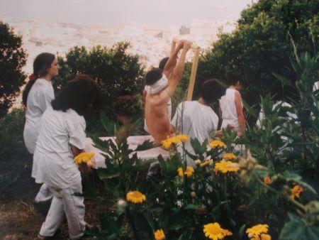 写真 Nitsch - 96 Aktion – Giardini San Martino, Napoli, A