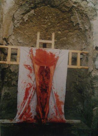 写真 Nitsch - 96 Aktion – Giardini San Martino, Napoli, I