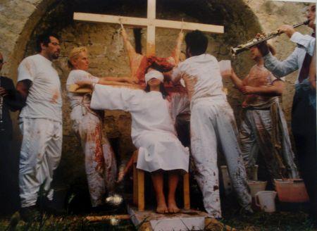 写真 Nitsch - 96 Aktion – Giardini San Martino, Napoli, T