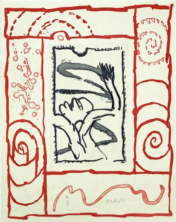 彫版 Alechinsky - A bras le corps