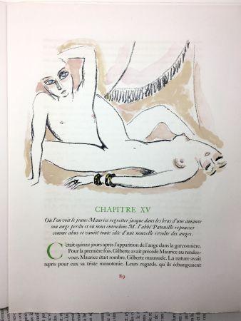 挿絵入り本 Van Dongen - A. France : LA RÉVOLTE DES ANGES. 58 lithographies en couleurs (1951)