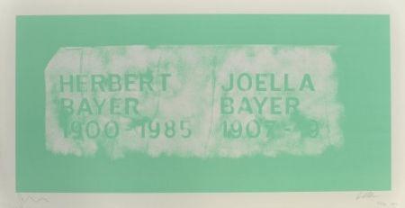 リトグラフ Myles - A History of Type Design / Herbert Bayer, 1900-1985 (Aspen, USA)