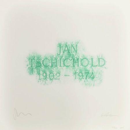 リトグラフ Myles - A History of Type Design / Jan Tschichold, 1902-1974 (Berzona, Switzerland)