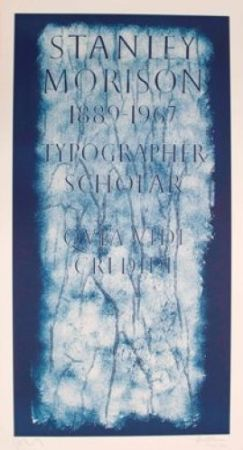 リトグラフ Myles - A History of Type Design / Stanley Morison, 1889-1967 (London, England)
