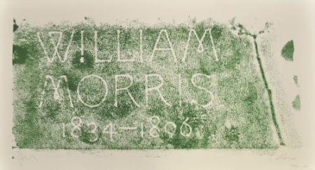 リトグラフ Myles - A History of Type Desing / William Morris, 1834-1896 (Kelmscott, England)