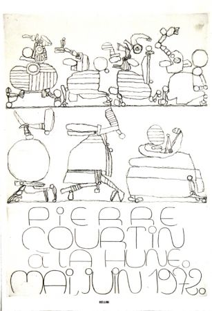 彫版 Courtin - A La Hune