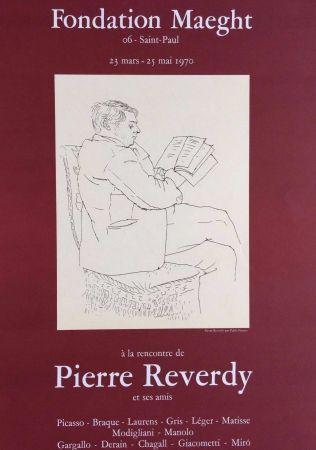 リトグラフ Picasso - '' A la Recherche de Pierre Reverdy ''