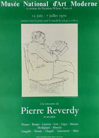 リトグラフ Picasso - ''A la Recherde de Pierre Reverdy ''