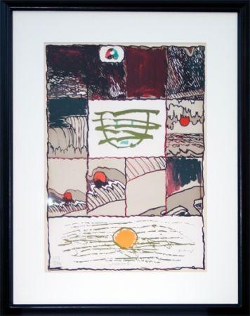 リトグラフ Alechinsky - A l'imprimerie (1967)