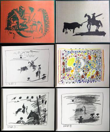 挿絵入り本 Picasso - A LOS TOROS avec Picasso. 4 lithographies originales (1961)