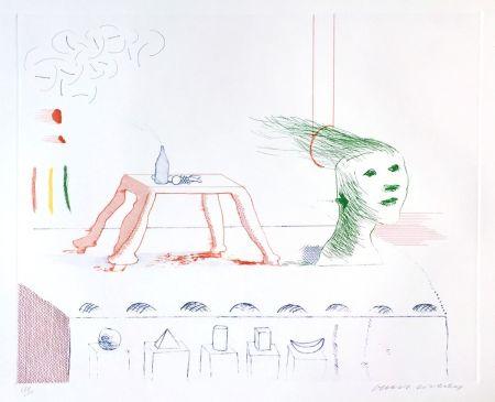 アクチアント Hockney - A Moving Still Life, The Blue Guitar