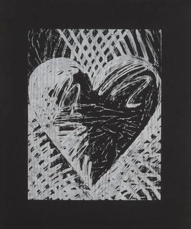 木版 Dine - A Night Woodcut