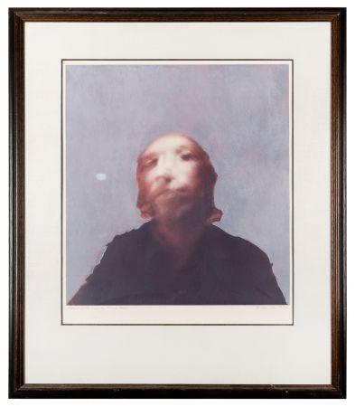 シルクスクリーン Hamilton - A Portrait of the Artist by Francis Bacon