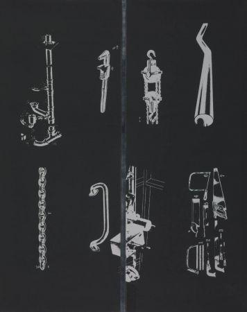 シルクスクリーン Dine - A tool box (I)