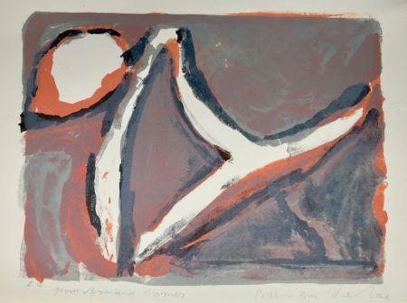 リトグラフ Van Velde - Abstract