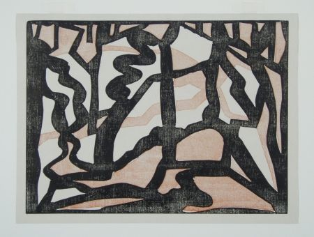 木版 Heemskerck,  - Abstract Composition