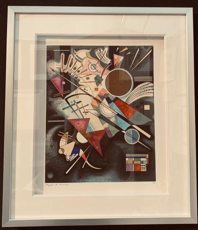 リトグラフ Kandinsky - Accompagnement en noir