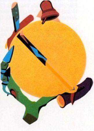 リトグラフ Telemaque - Accroche soleil