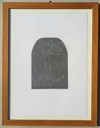 彫版 Burri - Acquaforte F
