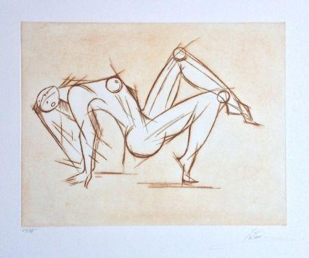 彫版 Kahn - Acrobat