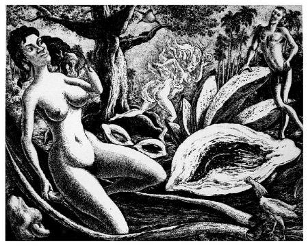 彫版 Alejandro - Adam and Eve